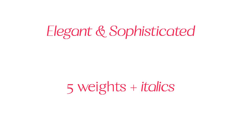 Calma Display Font